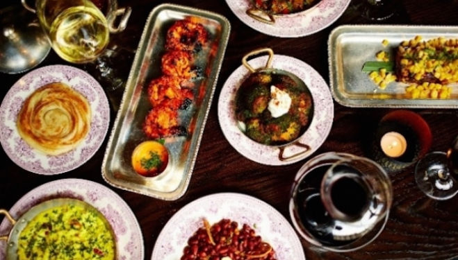 Supperclub at Indian Restaurant Gymkhana: Spirit Led Dinners