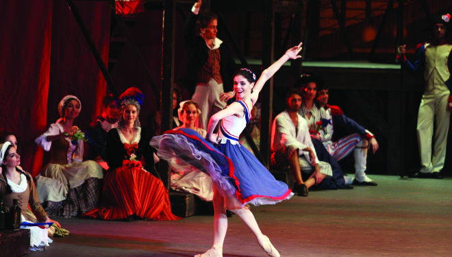 Bolshoi The Flames of Paris, photo Elena Felisova