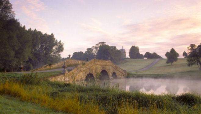 Oxford Bridge, Stowe Capability Brown 2016 Festival, Capability Brown