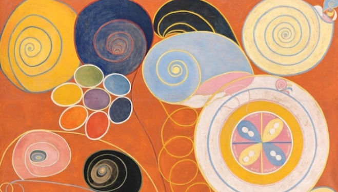Hilma af Klint – Eine Pionierin der Abstraktion, Photo: David von Becker.