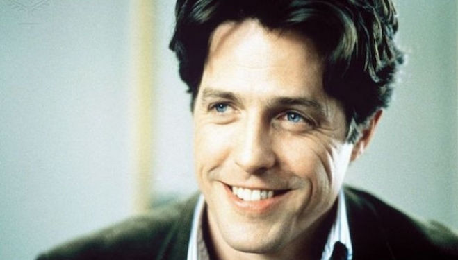 Hugh Grant in Richard Curtis' Notting Hill