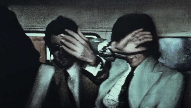 Arrested: detail from 'Swinging London 67', © Richard Hamilton, one of the most Rock n Roll moments in history