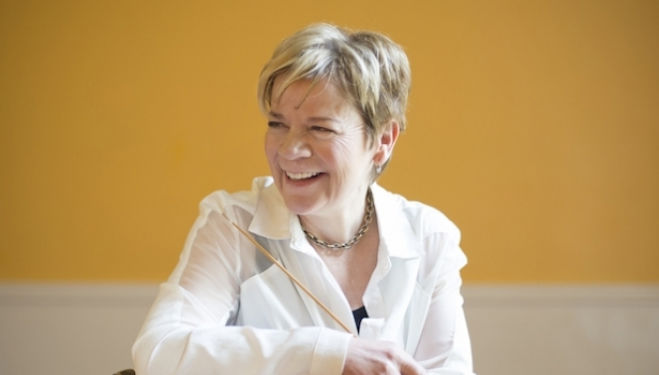 Marin Alsop, photo credit Adriane White