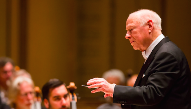 Bernard Haitink, photo credit Todd Rosenberg