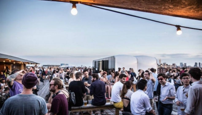 Netil 260 Rooftop  Bar, East London
