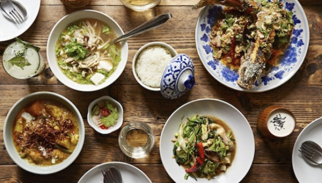 Som Saa London: Thai Restaurant, Commercial Street