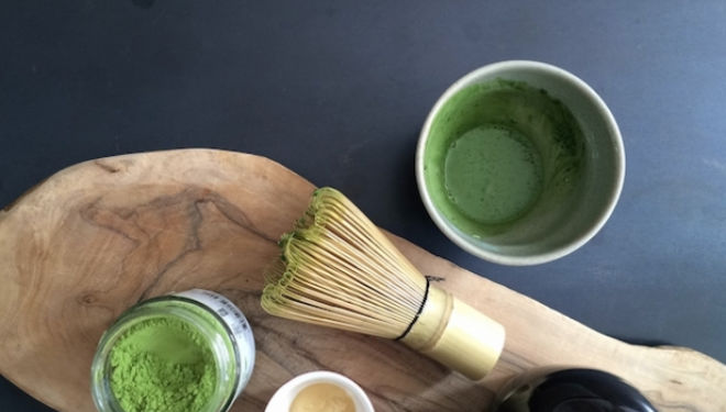 Green Matcha Tea Latte courtesy of Stephanie Achar