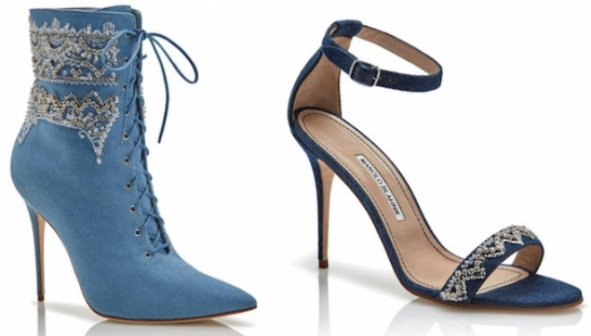 Rihanna and Manolo Blahnik collaboration