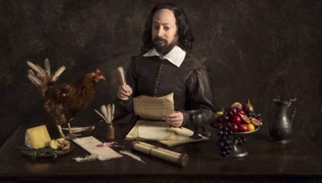 Playing Shakespeare: David Mitchell stars in BBC 2's Upstart Crow