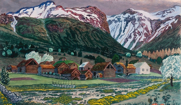 Nikolai Astrup: Norway