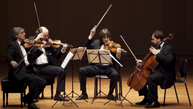 Take a bow: the Borodin Quartet, photo by Ny Che Goyang Aram Nuri Arts Center