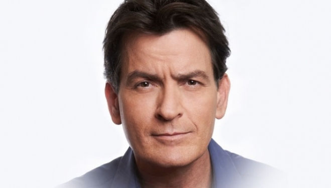 Charlie Sheen comes to London