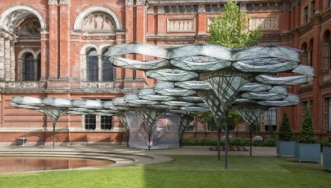 Elytra Filament Pavilion review, V&A