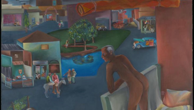 'Ultimately inaccessible' Bhupen Khakhar, Tate Modern Review