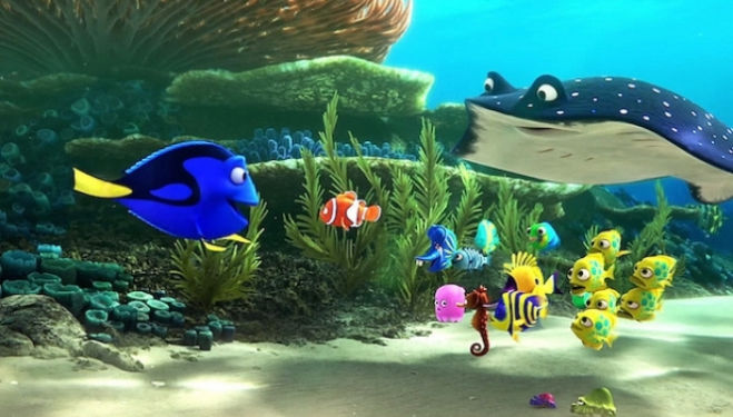 Finding Dory film review
