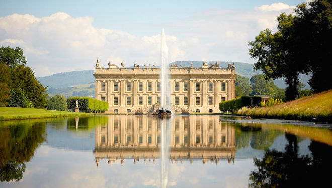 Chatsworth House: RHS Flower Show Chatsworth Estate