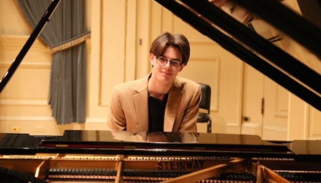 Teenage piano prodigy Thomas Nickell makes his UK debut with a new work