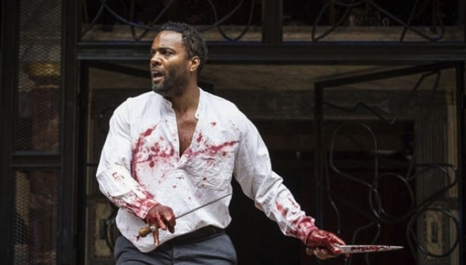 Ray Fearon as Macbeth at Shakespeare's Globe (Photo: Marc Brenner)