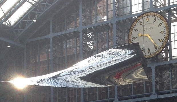 New Ron Arad sculpture unveiled at St Pancras
