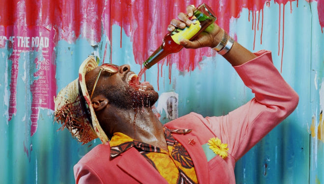 They Drink It In The Congo: Sule Rimi photographed by Miles Aldridge