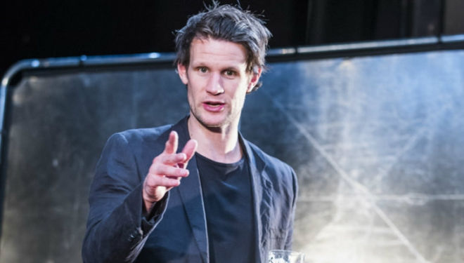 Maxim played by Matt Smith: Royal Court Theatre, Unreachable by Anthony Neilson