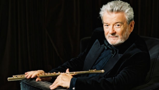 Flautist Sir James Galway appears at Proms in the Park