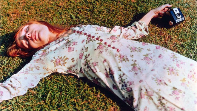 Untitled, c.1975 (Marcia Hare in Memphis, Tennessee) by William Eggleston © Eggleston Artistic Trust