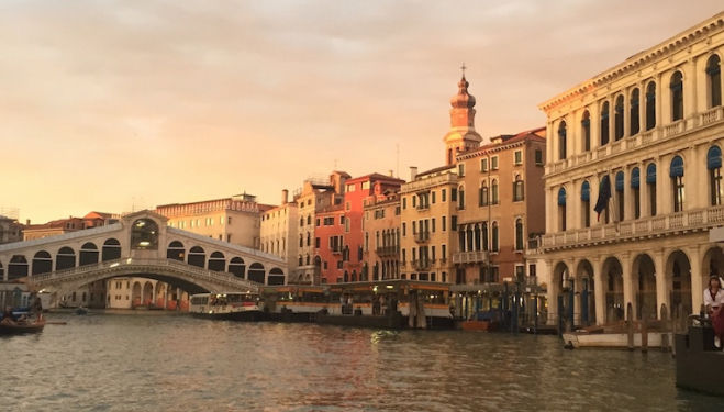 Venice has inspired generations of musicians, as well as painters. Photograph: Maggie Owen