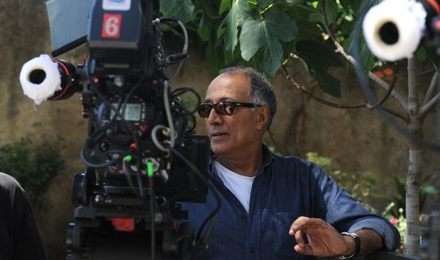 Abbas Kiarostami at work