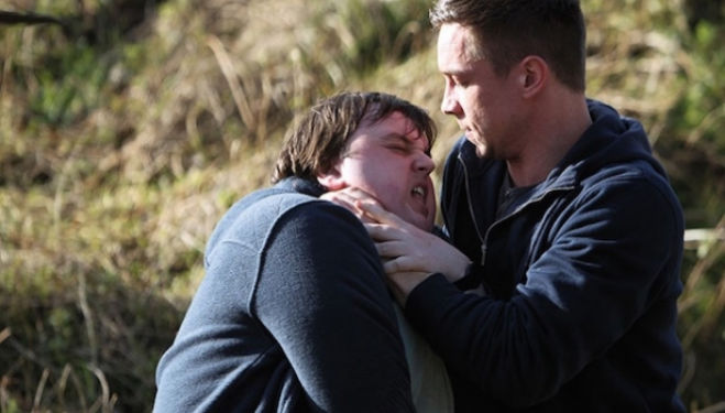 John Bradley and Harry Killian in Traders