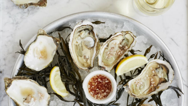 Colchester rock oysters: Albion Clerkenwell serves seasonal British food