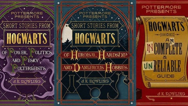 Three new Harry Potter books arriving this autumn