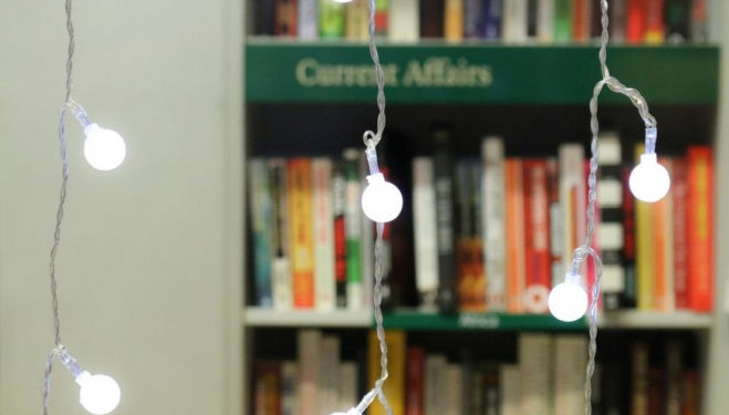Everything is Illuminated: A good bookshop lights up your imagination. Image courtesy London Review of Books Bookshop