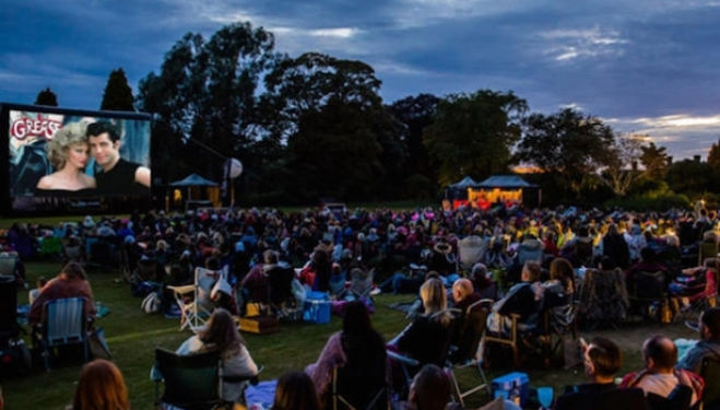Kew Gardens outdoor screenings
