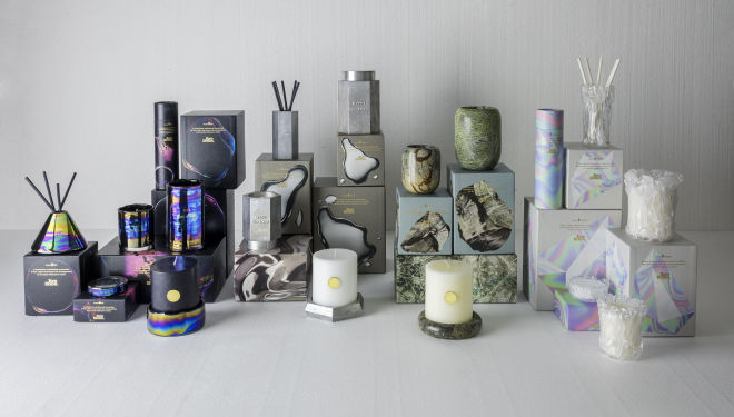 Materialism - full set, new Tom Dixon candles & accessories