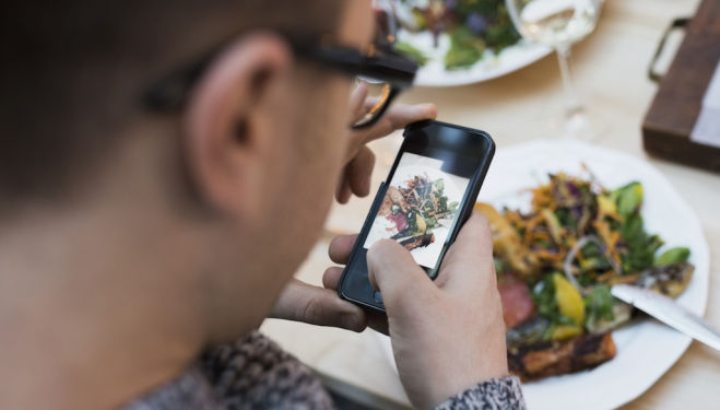 The highs and lows of Instagramming meals