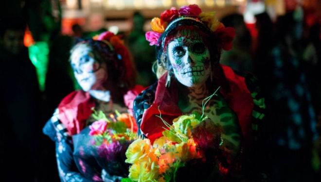 Day of the Dead Wahaca festival