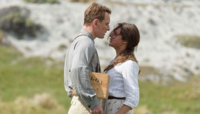 The Light Between Oceans: Michael Fassbender and Alicia Vikander