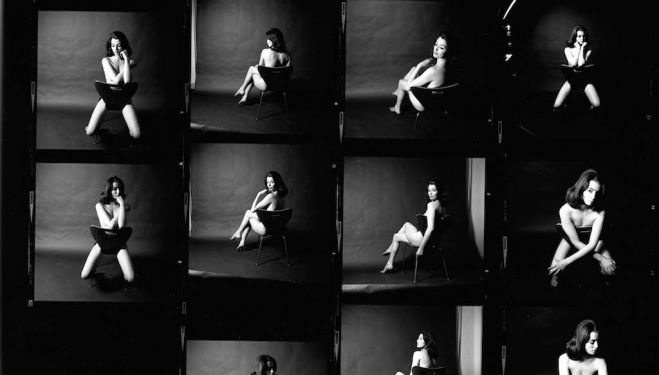 Christine Keeler,  photographs by Lewis Morley 1963  Credit line: © Lewis Morley National Media Museum Science & Society Picture Library
