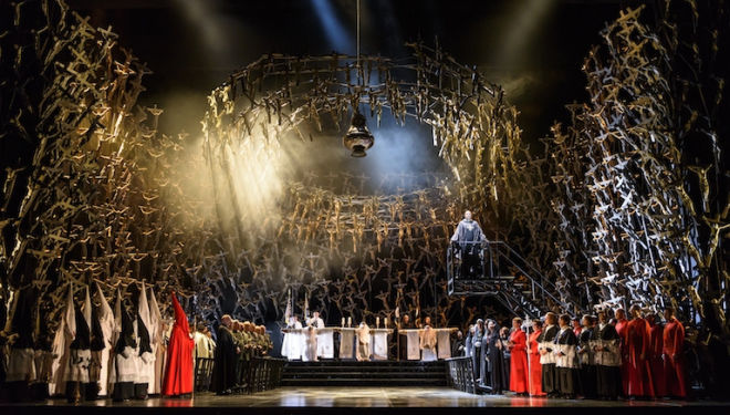 Bellini's powerful and dramatic opera is tested in the fire