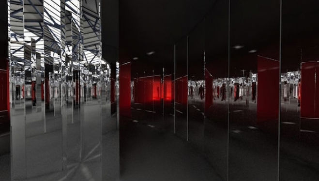 Explore Mirror Maze: Es Devlin's first solo installation