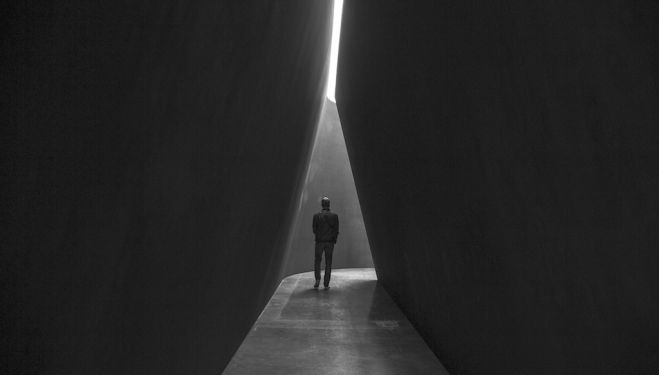 "Richard Serra NJ-1, 2015, weatherproof steel, six plates, overall: 13' 9"" × 51' 6"" × 24' 6"" (4.2 × 15.7 × 7.5 m), plates: 2"" (5 cm thick) (C) Richard Serra. Photo by Cristiano Mascaro"