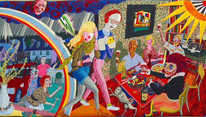 The Annunciation of the Virgin Deal, Grayson Perry. 2012 Serpentine Grayson Perry