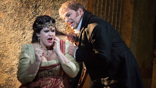 A triumphant revival of a stellar production of Puccini's seering drama
