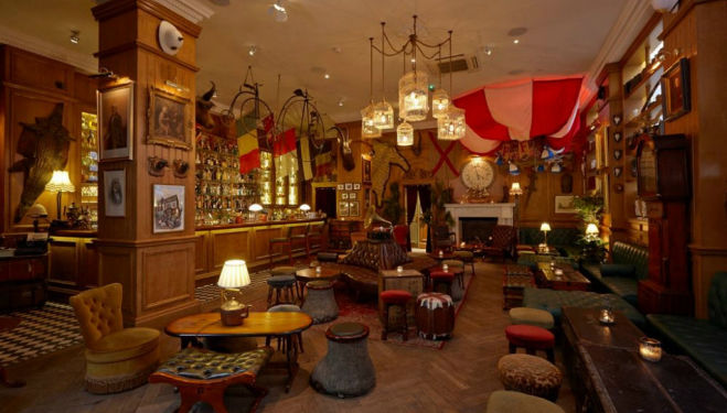 Mayfair bar Mr Fogg's