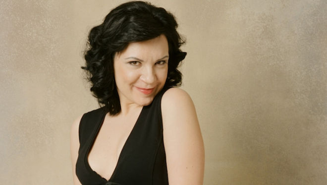 Ekaterina Semenchuk sings songs by the composers known as The Five. Photograph: Sheila Rock