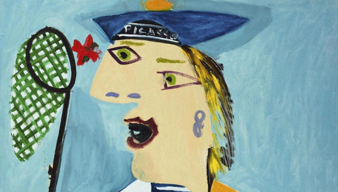 Mood meets colour: Maya in a Sailor Suit, 1938
