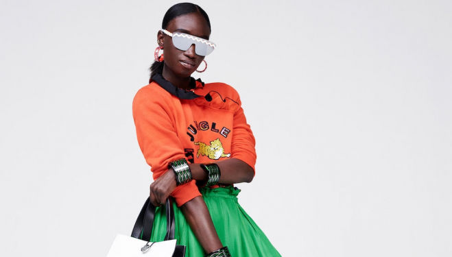The Kenzo X H&M Look Book has landed