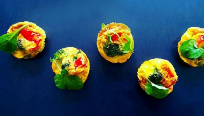 Stuffed with healthy vegetables, this easy bake muffin recipe will have you craving more