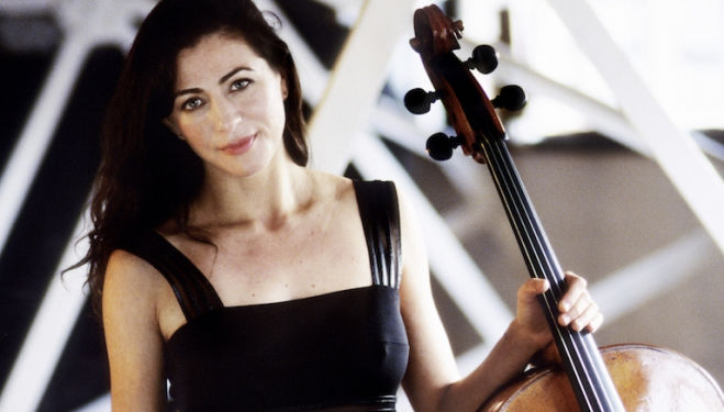 Natalie Clein: touched and moved by the Dvorak concerto. Photograph: Sussie Ahlburg